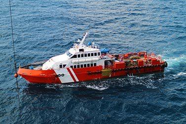 Transfer łodzią - Kurs